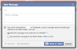 Facebook Message Other Mailbox